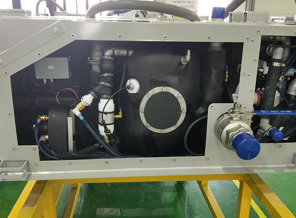 火车(动车)DN20夹管阀应用