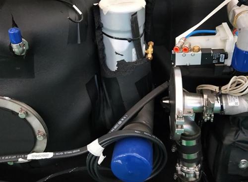 火车(动车)DN50夹管阀应用